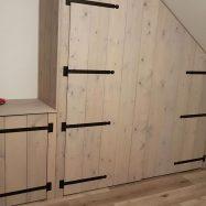 Custom Steigerhout Bureau Woudrichem